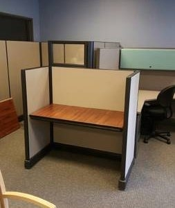Herman Miller AO2 4x2 low panel cubicles