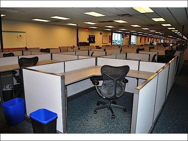 Used Herman Miller AO2 Cubicles 6×6 Low Wall