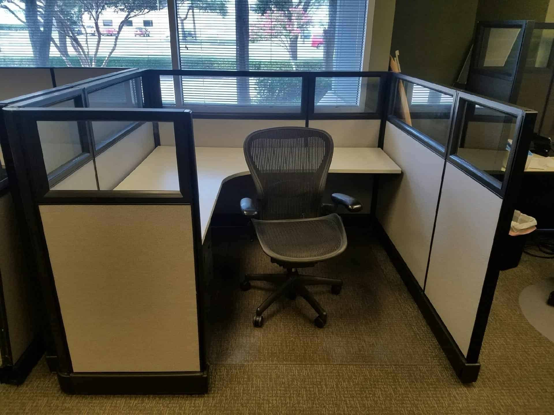 Herman Miller AO48 Cubicles Continental Office Group