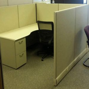 Used Herman Miller AO3 Cubicles 6x6x53