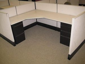 used Herman Miller AO3 Office Cubicles