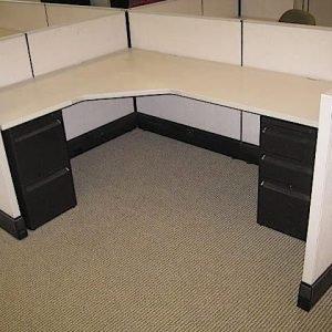 Herman Miller AO3 Office Cubicles 5×7