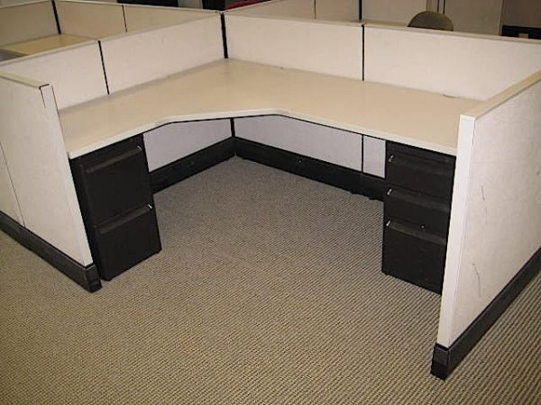 Used Herman Miller AO3 Office Cubicles 5×7 COG-100-AO3