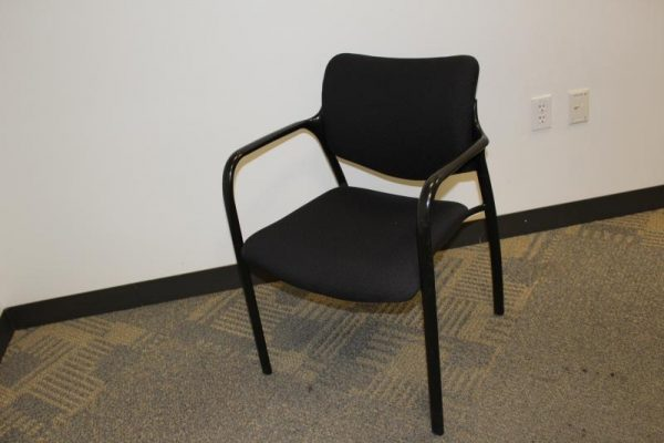 Used Herman Miller Aside guest / stacking chairs