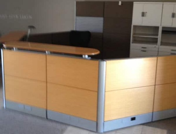 Used Herman Miller Ethospace Reception Station