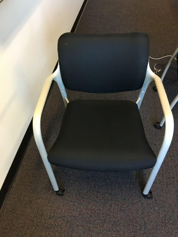 Used Herman Miller Guest Chairs with Wheels