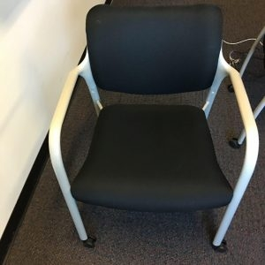 Used Herman Miller Guest Chairs w-wheels