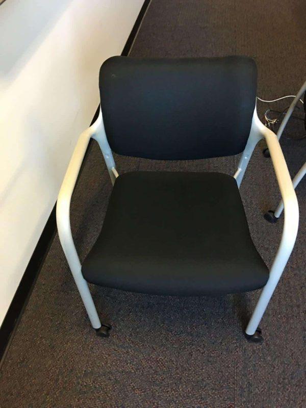 Used Herman Miller Guest Chairs w-wheels