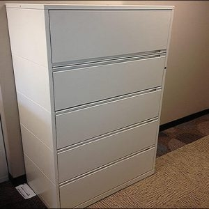 Used Herman Miller Meridian 5 Drawer Lateral Files