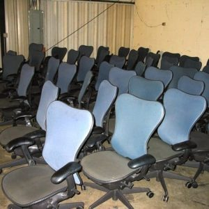 used Herman Miller Mirra chairs