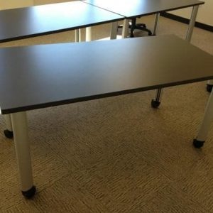 "Used Herman Miller 5'x30"" Mobile Training Tables"