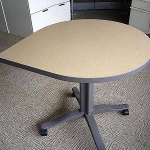 Used Herman Miller 30x60 Teardrop Tables