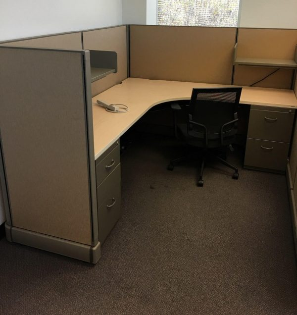 Secondhand Herman Miller AO2 6x7x53 Cubicles