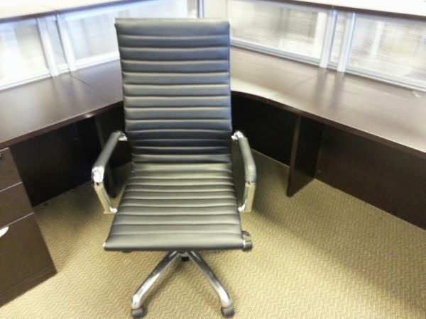 Used High Back Black Conference Chairs