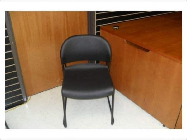 used Hon stacking chairs