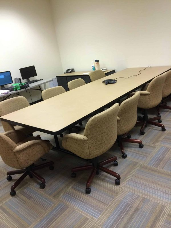 used maple conference table