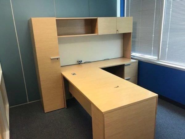used Gunlocke office desks