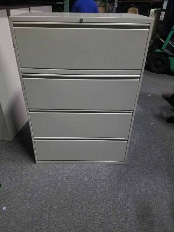 used Inscape 4-Drawer Lateral File Cabinets