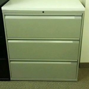 For sale, Knoll Calibre 3 Drawer 36in wide Lateral File Cabinets