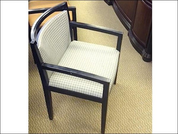Used KnollStudio® Ricchio Wood Side Chairs with Espresso Frame