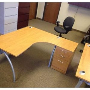 Used L Shape Desks