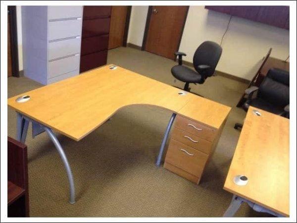 Used L Shape Desks