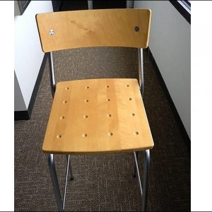 Used Maple Cafe Stools