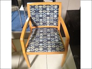 Maple Frame Wood Side Chairs
