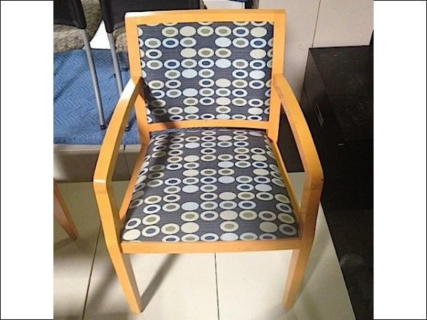 Used Maple Frame Wood Side Chairs