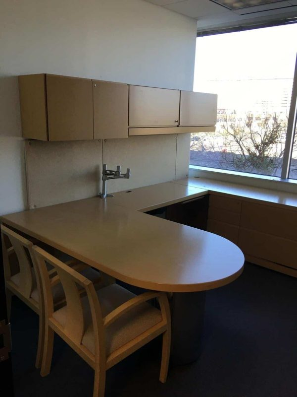Used Maple Private Offices