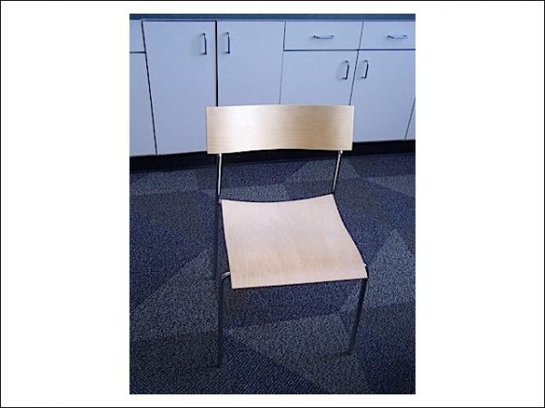 Used Maple Stack Chairs Maple