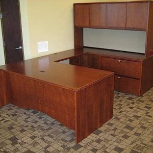Used OFS u shaped desk