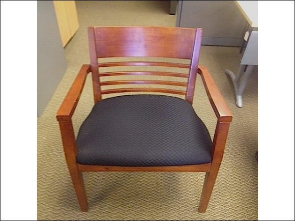 Used Office Products Cherry Wood Side Chairs