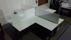 Used 6x6 Open Plan Cubicles