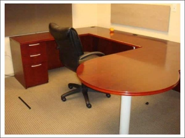 Used Paoli U Shape Desks