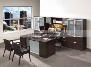 New Performance Executive U Shape Desk Laterals Extra Storage
