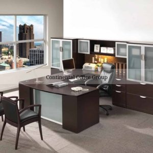 New Performance Executive U Shape Desk Laterals Extra Storage