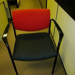 Used Red Steelcase Player Chairs