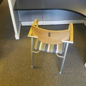 Preowned Molti Gunlocke Wooden Side Chairs