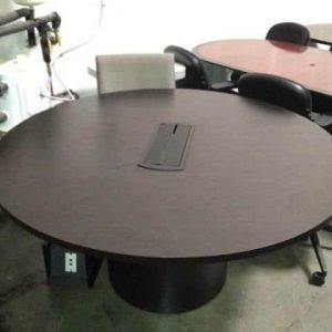 Used round table with power