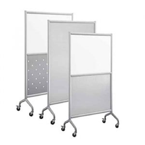 Used Safco Rumba Collaboration Whiteboard Screens