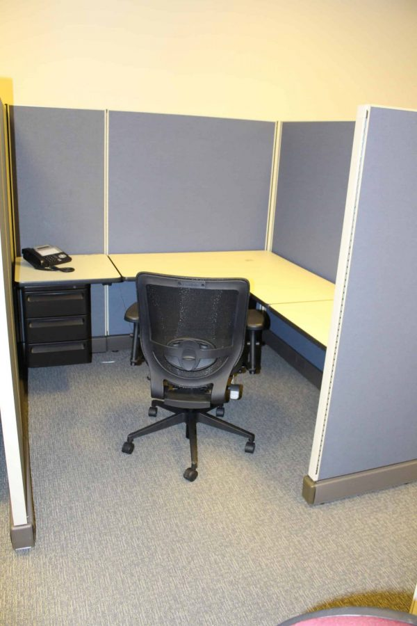 Used Herman Miller AO2 6x6 6x8 8x8 Cubicles