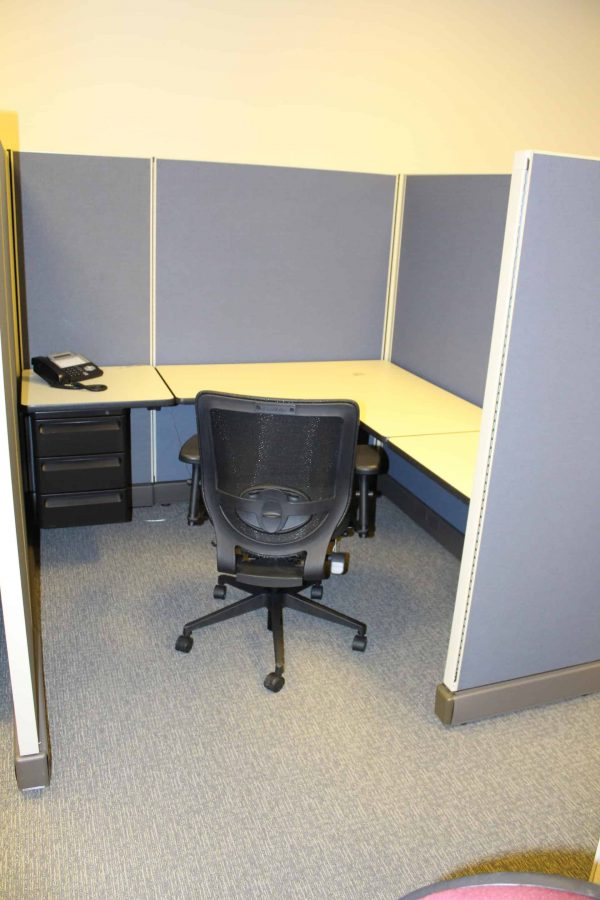 Used Herman Miller AO2 Cubicles 6×6 6×8 8×8