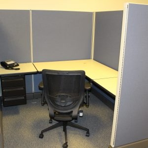 Secondhand Herman Miller AO2 Cubicles