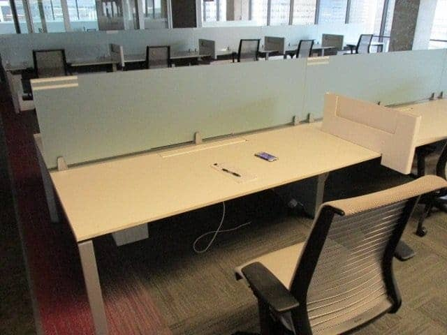 Superb Used Steelcase Frameone Benching Solution Used Office Download Free Architecture Designs Scobabritishbridgeorg