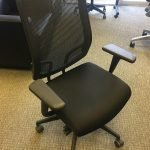Sit On It Mesh Chairs Black Fabric