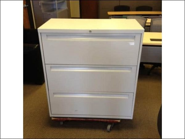 Used Steelcase 3 Drawer 36″ Lateral File Cabinets