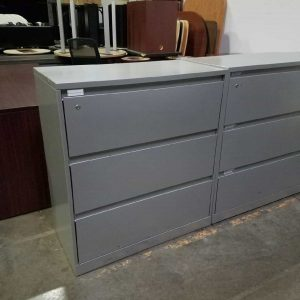 Secondhand Steelcase 3 drawer File Cabinets