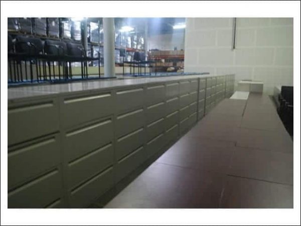 Used Steelcase 4 Drawer 200 Series Lateral File Cabinets