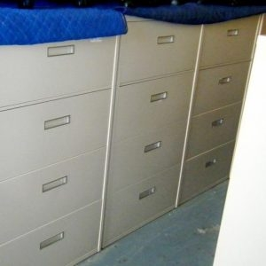 Steelcase Filing Cabinets 4 Drawer 800 Series 36 inch wide